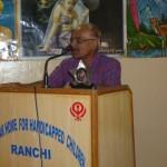 (図22)Dr S Pandeyのスピーチ