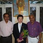 (図1)左がDr A.K Pandey、右がDr S Pandey